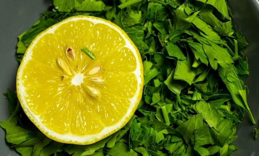 Limón para espinillas