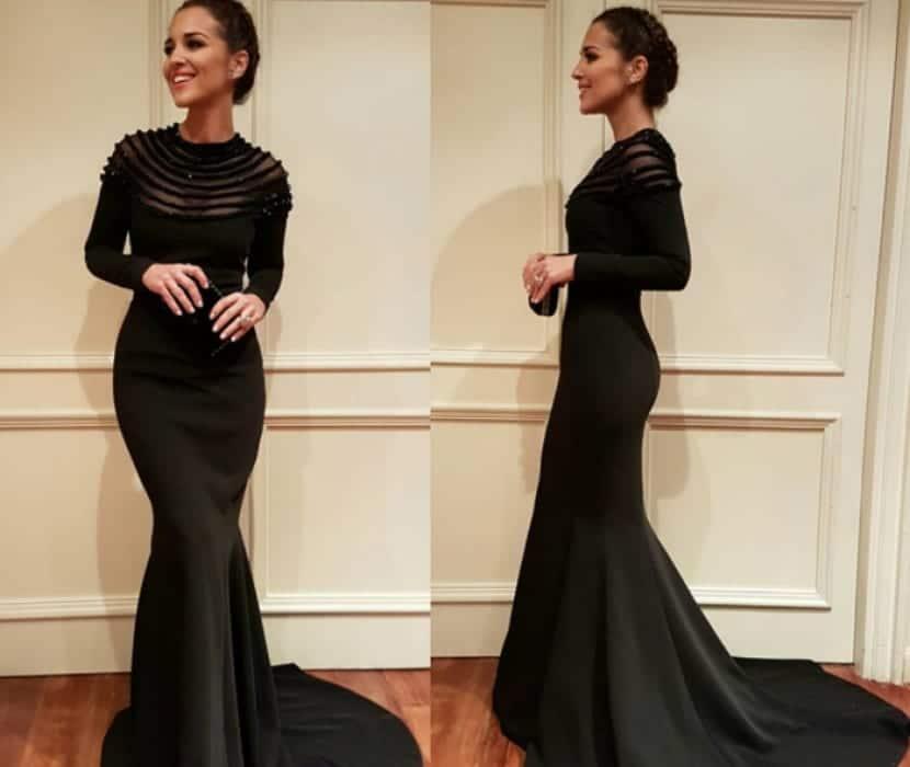 Modelos de vestidos de noche espectaculares