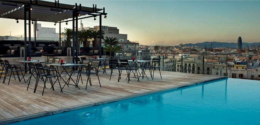 Skybar Grand Hotel Central Barcelona