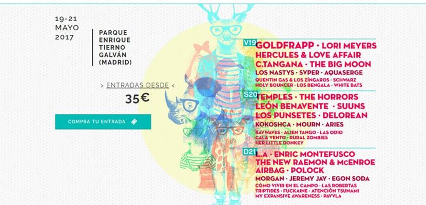 Festival Tomavistas 2017 Madrid