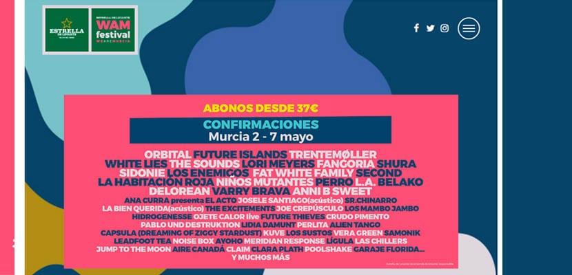 Wam Festival 2017