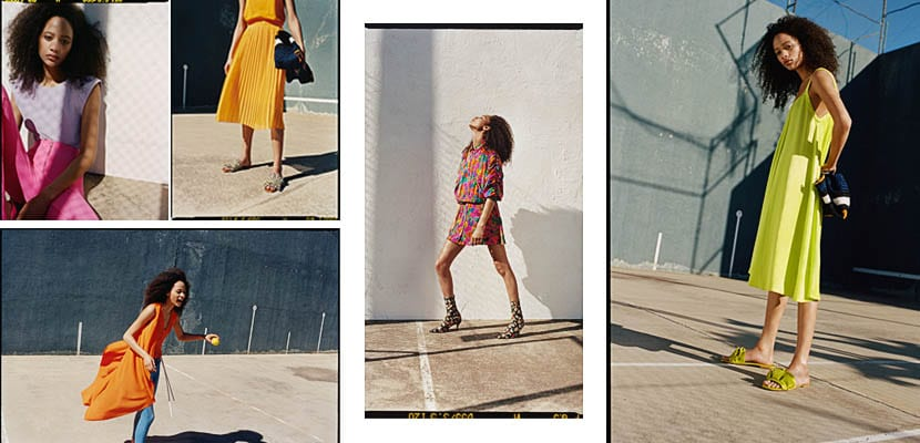 Editorial Zara TRF-Neon