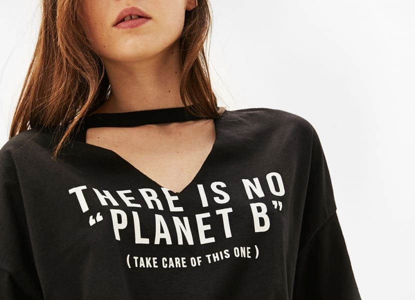 Mensaje camisetas algodón