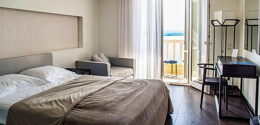 Dormitorio en orden