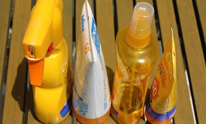 Usos de las cremas solares