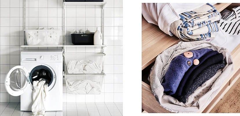 Lavar y doblar