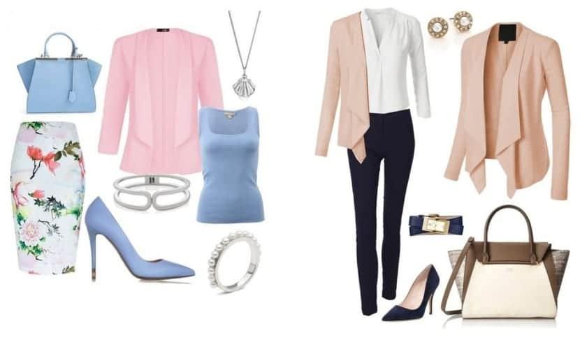 Combinar el color rosa los looks en rosa de la temporada - Colores que combinan con el beige ...