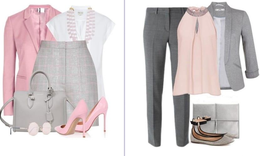 Combinar el color rosa los looks en rosa de la temporada - Colores que combinan con rosa ...