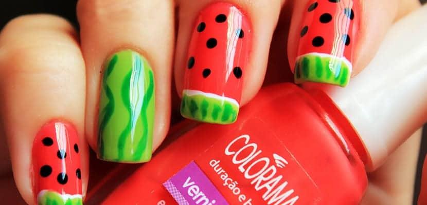 Inspiración nail art de verano para tus uñas