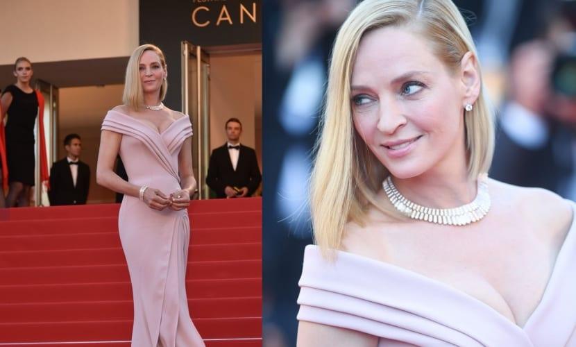 Uma Thurman en Cannes 2017
