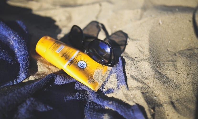 Caducidad de la crema solar
