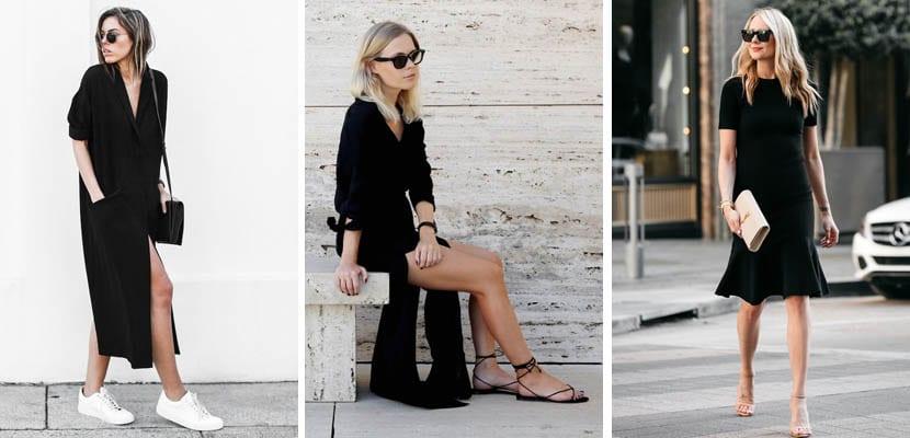 Vestidos negros-Looks de primavera