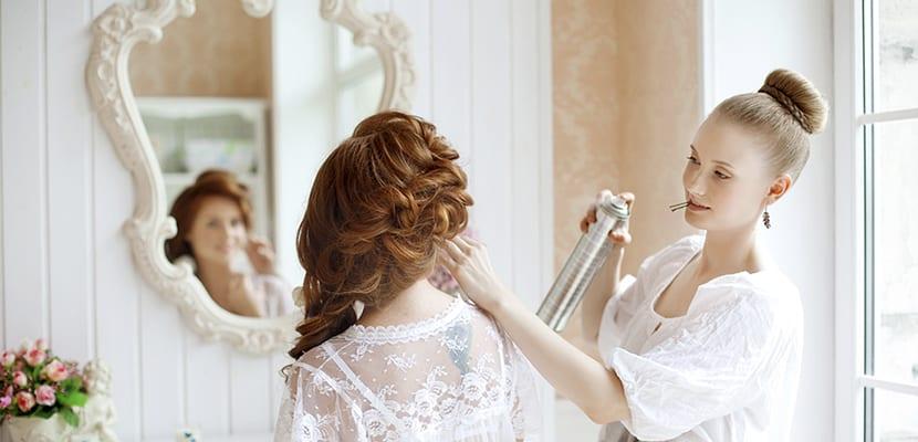 Pruebas de peinado