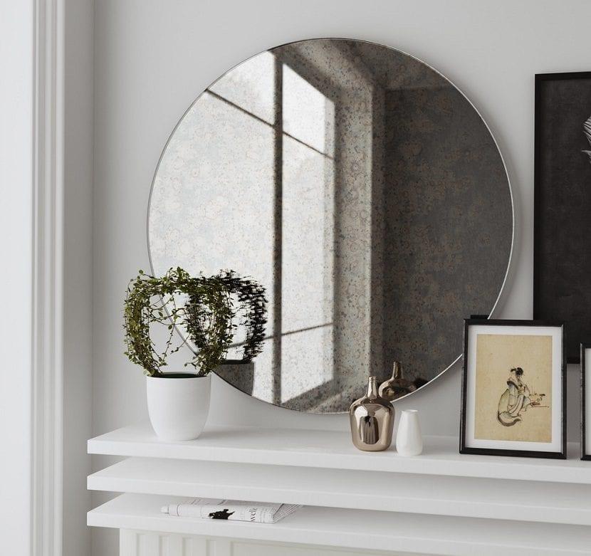 consejos para decorar con espejos redondos
