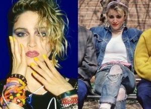 Madonna moda años 80