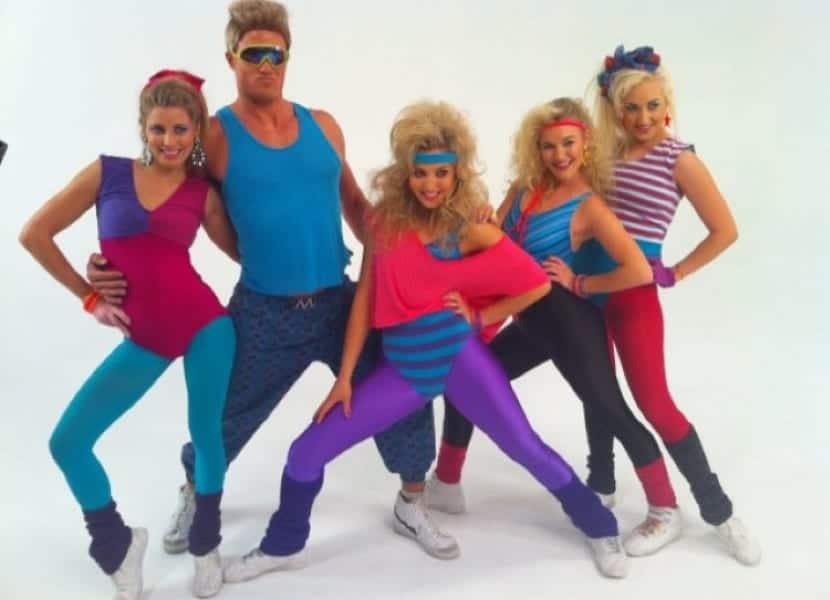Moda deportiva de los 80