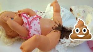 Nenuco hace caca