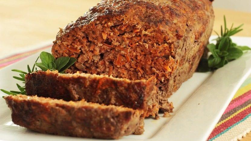 Pan de carne integral