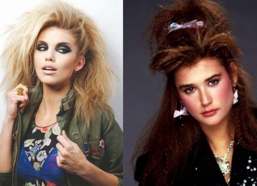Anos 80 Las Claves De Una Moda Muy Atrevida E Inolvidable