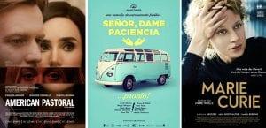 Plículas: próximos estrenos