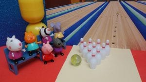 Peppa Pig en la bolera
