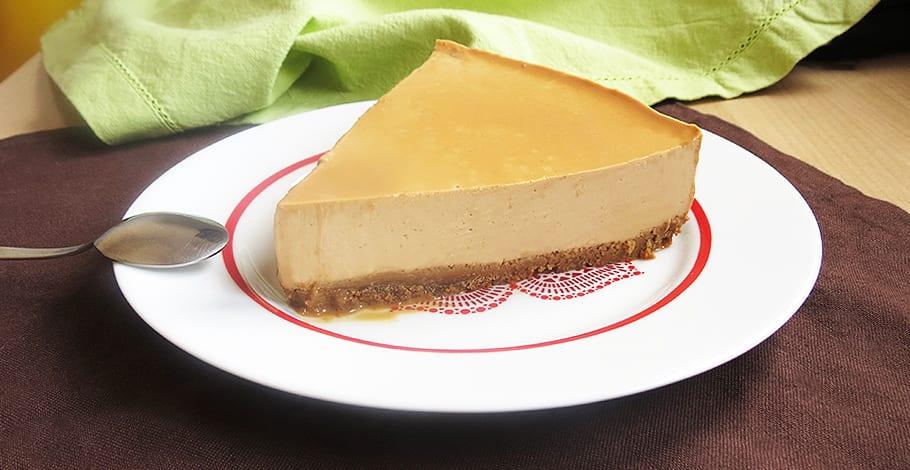 Tarta de queso y dulce de leche sin horno y muy facil