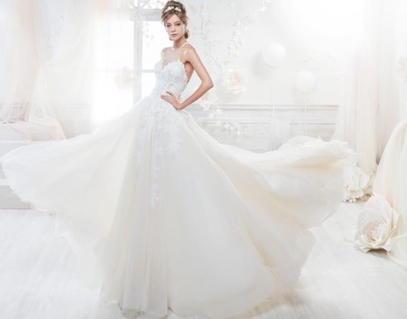 Vestido princesa novias