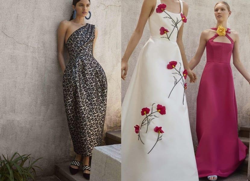 Vestidos largos Carolina Herrera