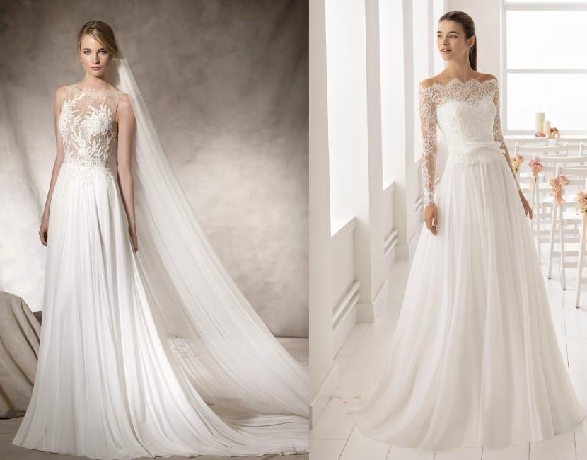 tipos de vestidos de novia - ¿cuál es tu gran favorito?