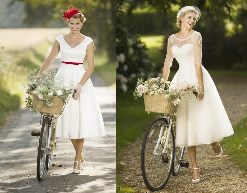 Vestidos cortos para novia