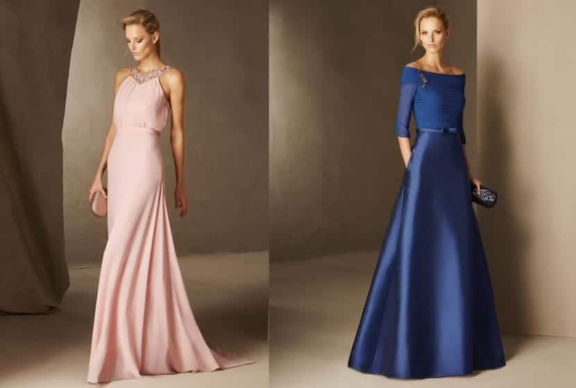 Cómo vestirse en bodas de noche