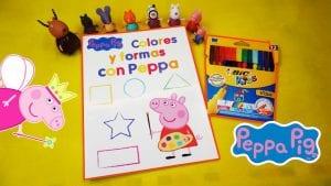Cuaderno de colorear a Peppa Pig