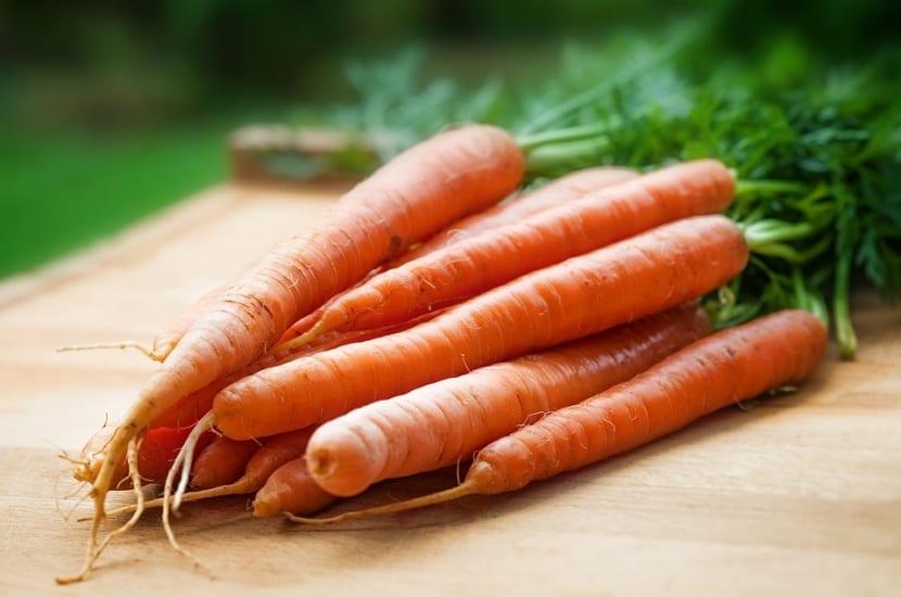 Zanahorias para fortalecer cabello