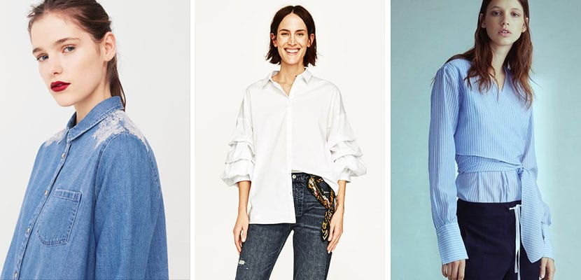 Camisas de tendencia en rebajas