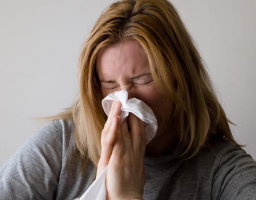 Síntoma congestión nasal migraña