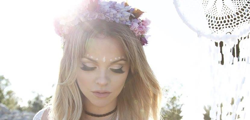 Maquillaje en festivales