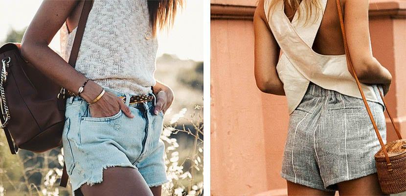Looks de verano con shorts