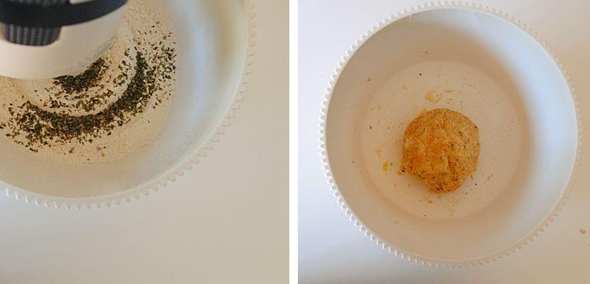 Palitos de queso y orégano