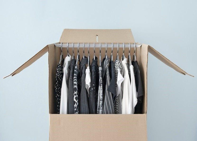 C mo guardar la ropa de invierno ante la llegada del verano - Burros para ropa ...