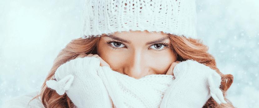 Protege tu piel del frio
