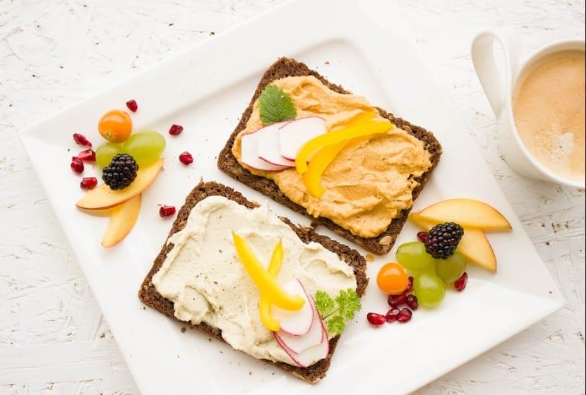 Alimentos bajos en grasa y saludables
