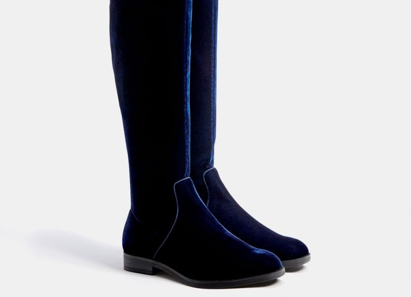 Botas altas sin tacón