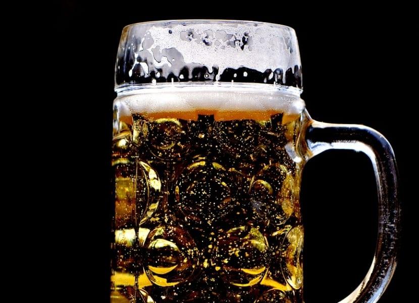 Cerveza para el cabello