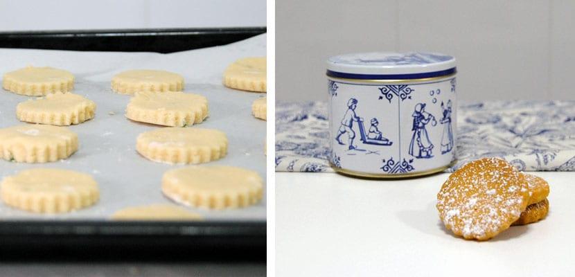 Galletas de mantequilla con tomillo limonero