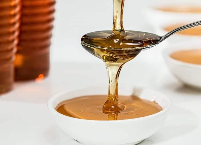 Miel para darle brillo al pelo