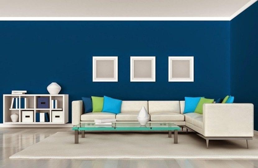 El color azul en la decoración de tu casa