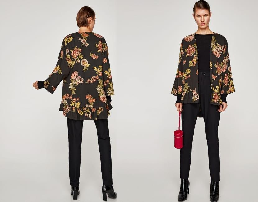 Kimono estilo chaqueta
