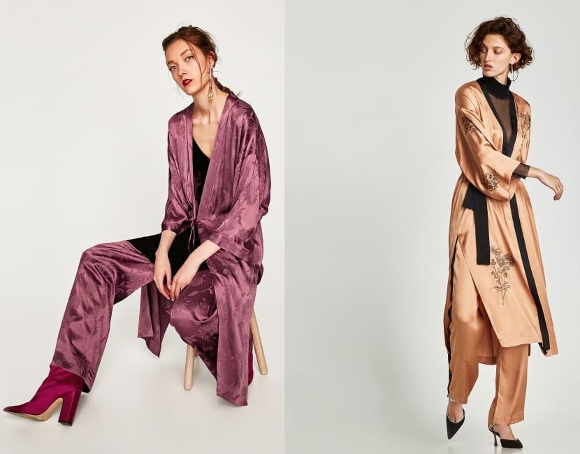 Kimono monocolor