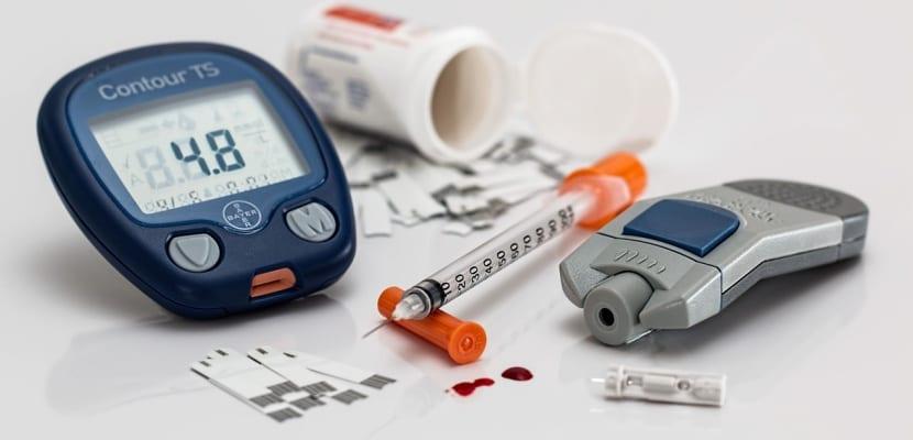 aparato para medir diabetes