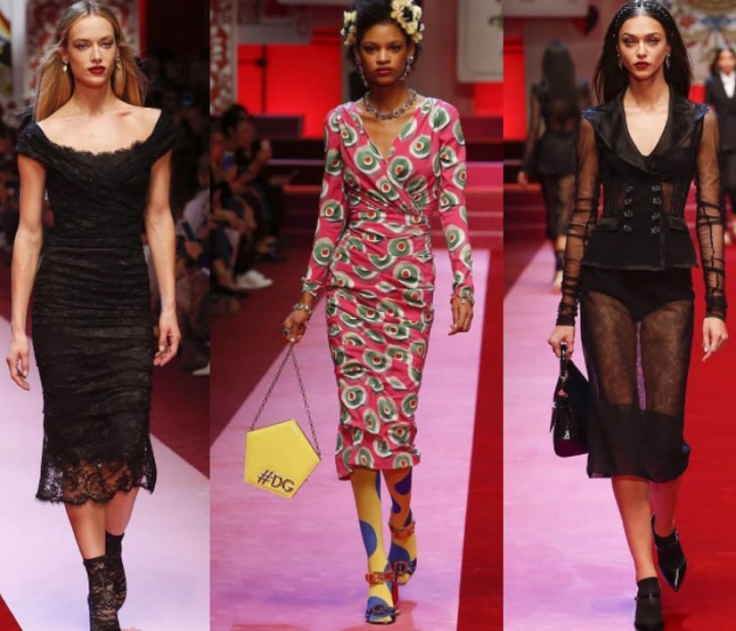 Dolce & Gabbana Milan Fashion Week